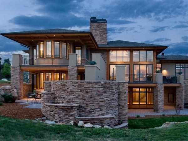 Serramenti in alluminio alessandria finestre alluminio legno for Ville in legno di lusso prezzi